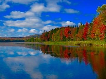 Adirondack property minutes away is Deer River Flow