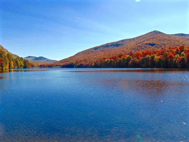 Adirondack Lake Fall Colors