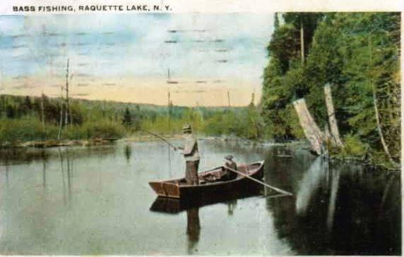 Bass Fishing in the Adirondacks