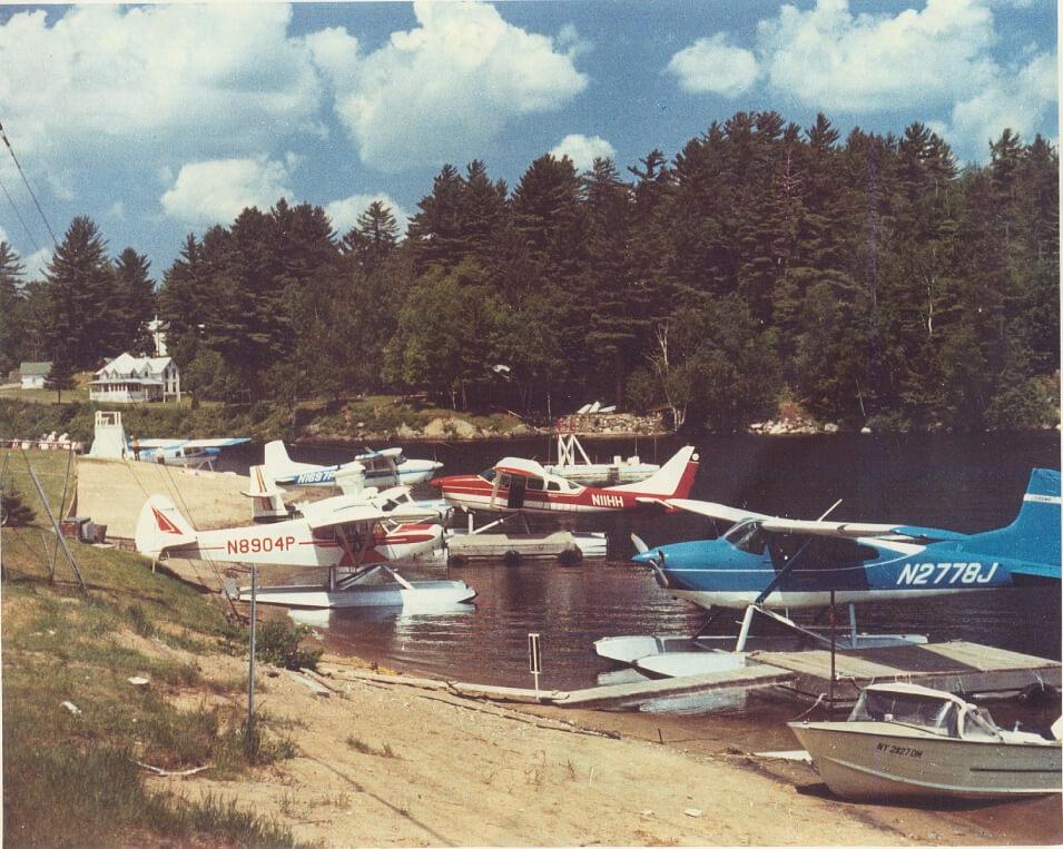 Sea Planes in the Adirondacks