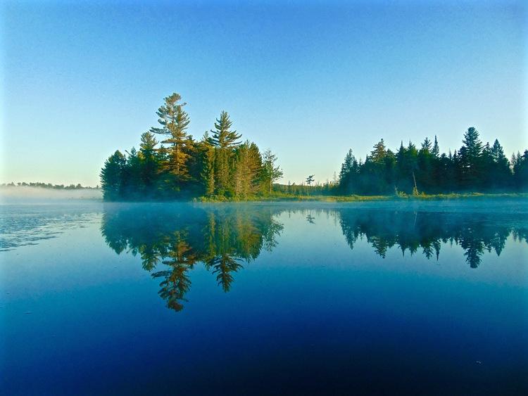Views of Round Lake