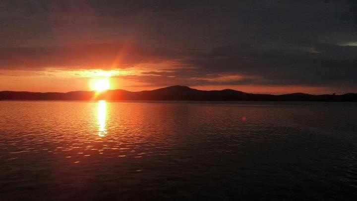 Adirondack Lake Sunset