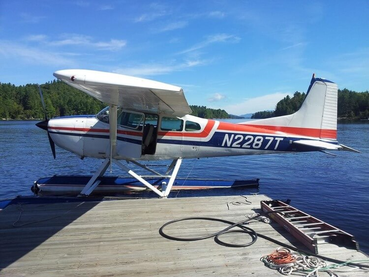 Seaplane on Long Lake