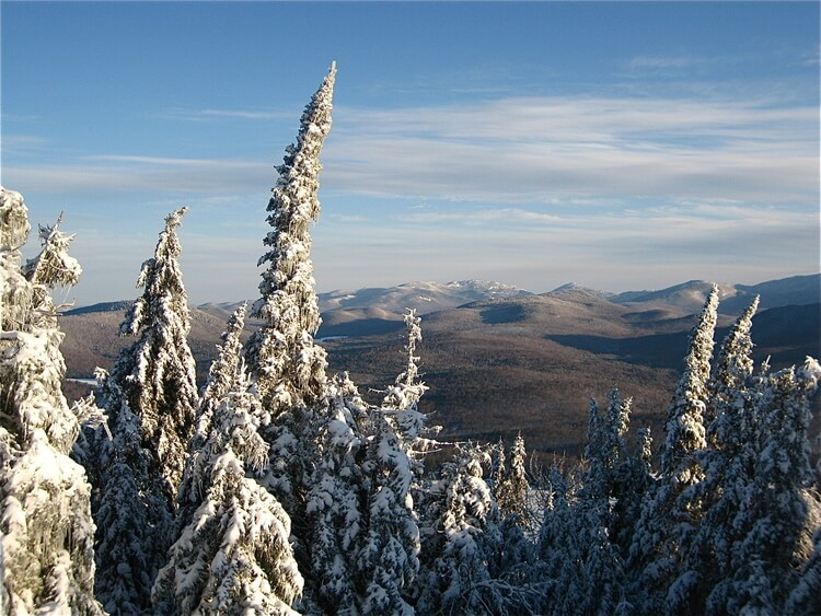 Winter in the Adirondack Mountains