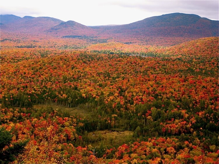 Fall in the Adirondack Mountains