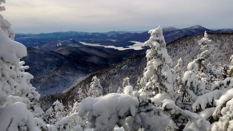 Winter in the Adirondacks