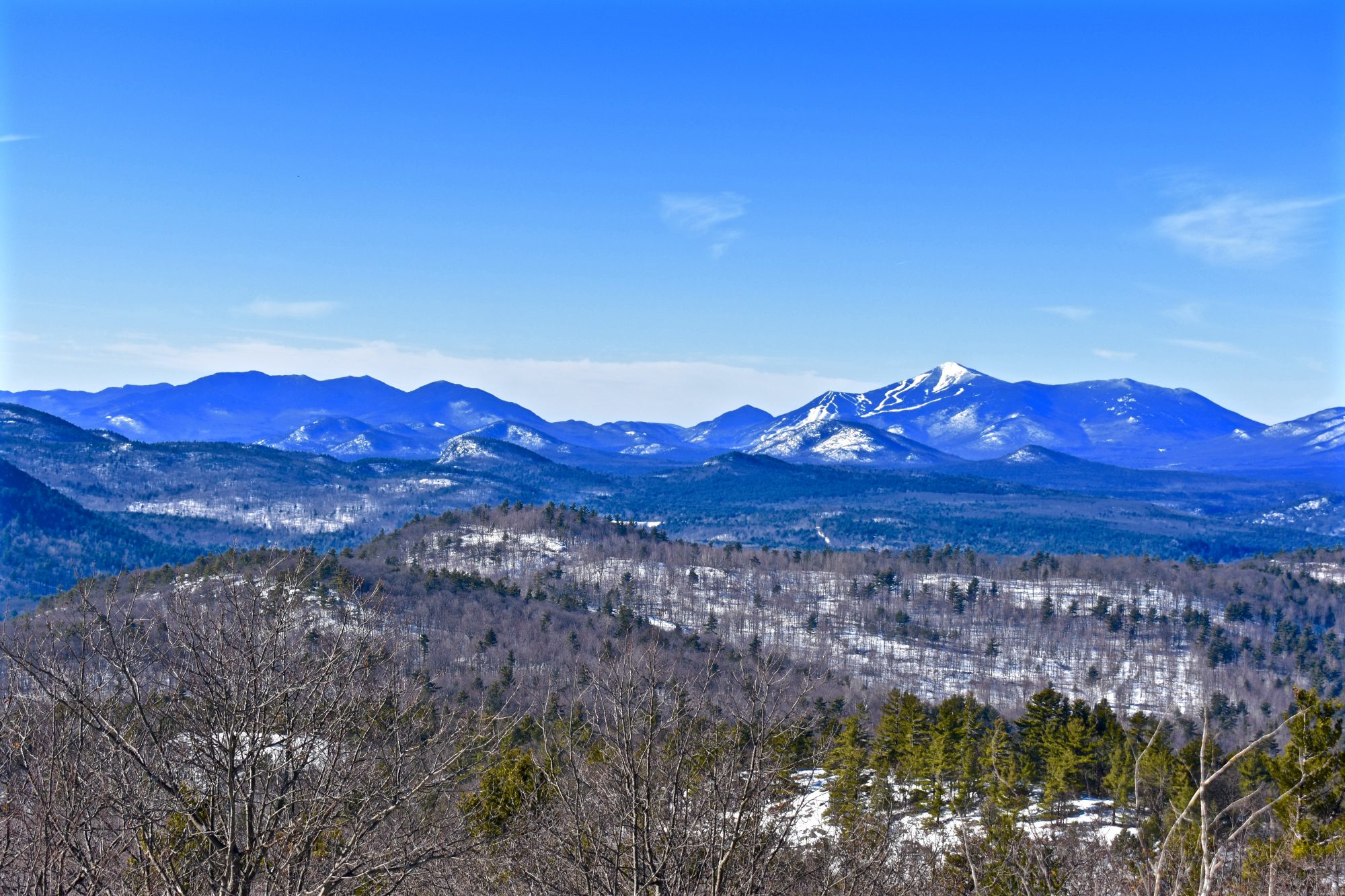 View of Whiteface Mt
