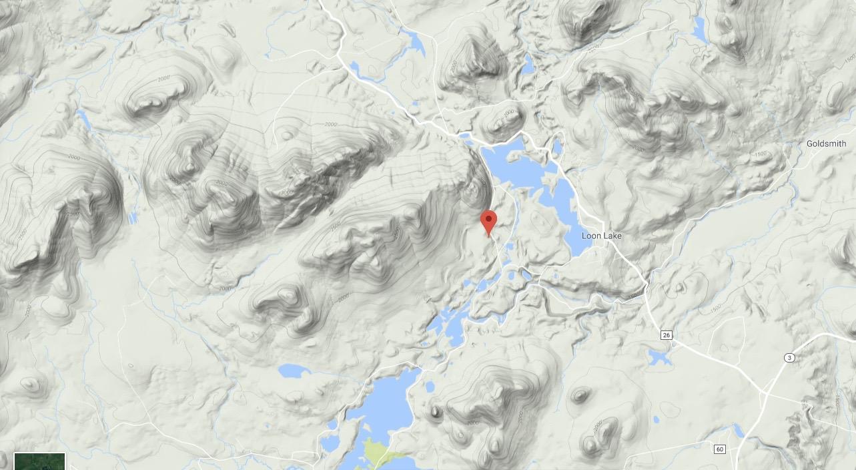 150 acres- Loon Lake Location