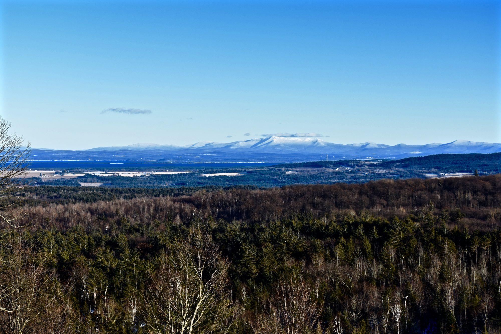 Mt Mansfield – Lake Champlain