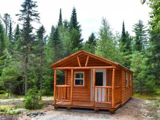 Adirondack Hunting Cabin