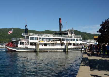 Boat trip on Lake George, NY