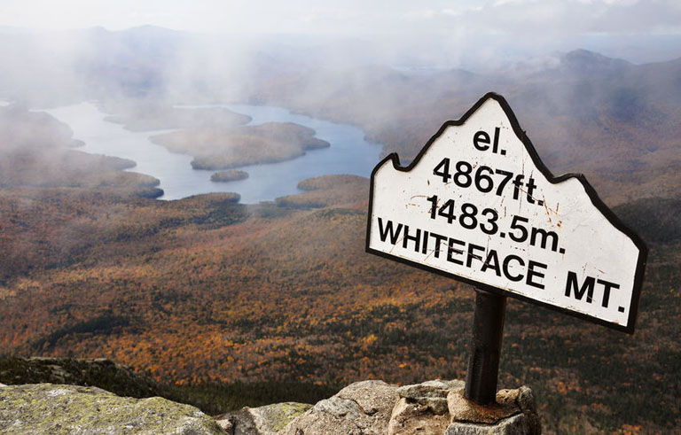 Whiteface Mountain in Lake Placid