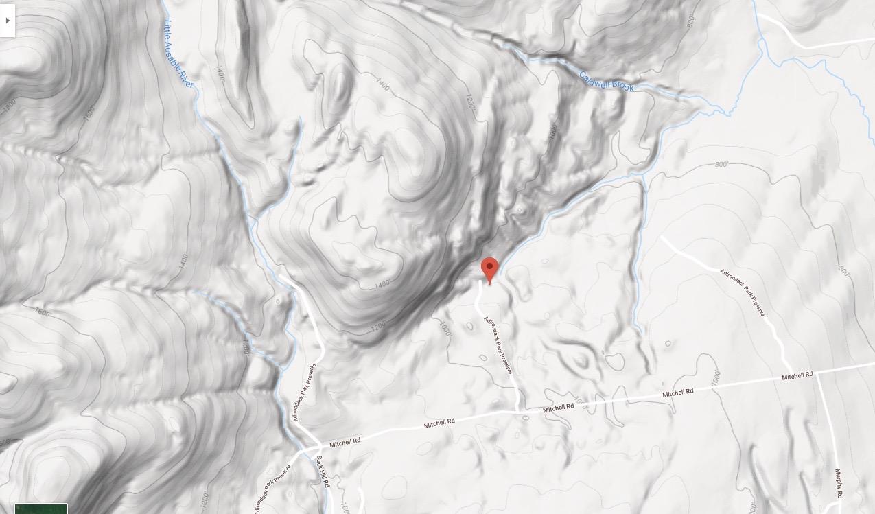 Mitchell Mt Location 1