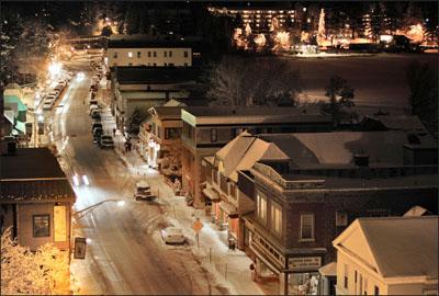 Main Street in Lake Placid