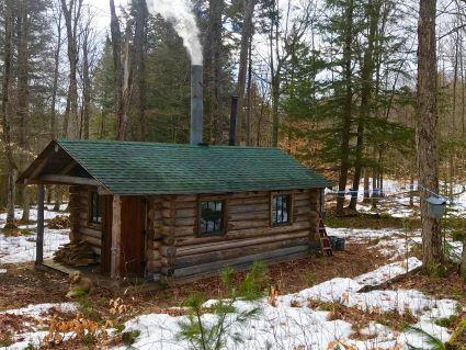 Maple Sugaring Cabin