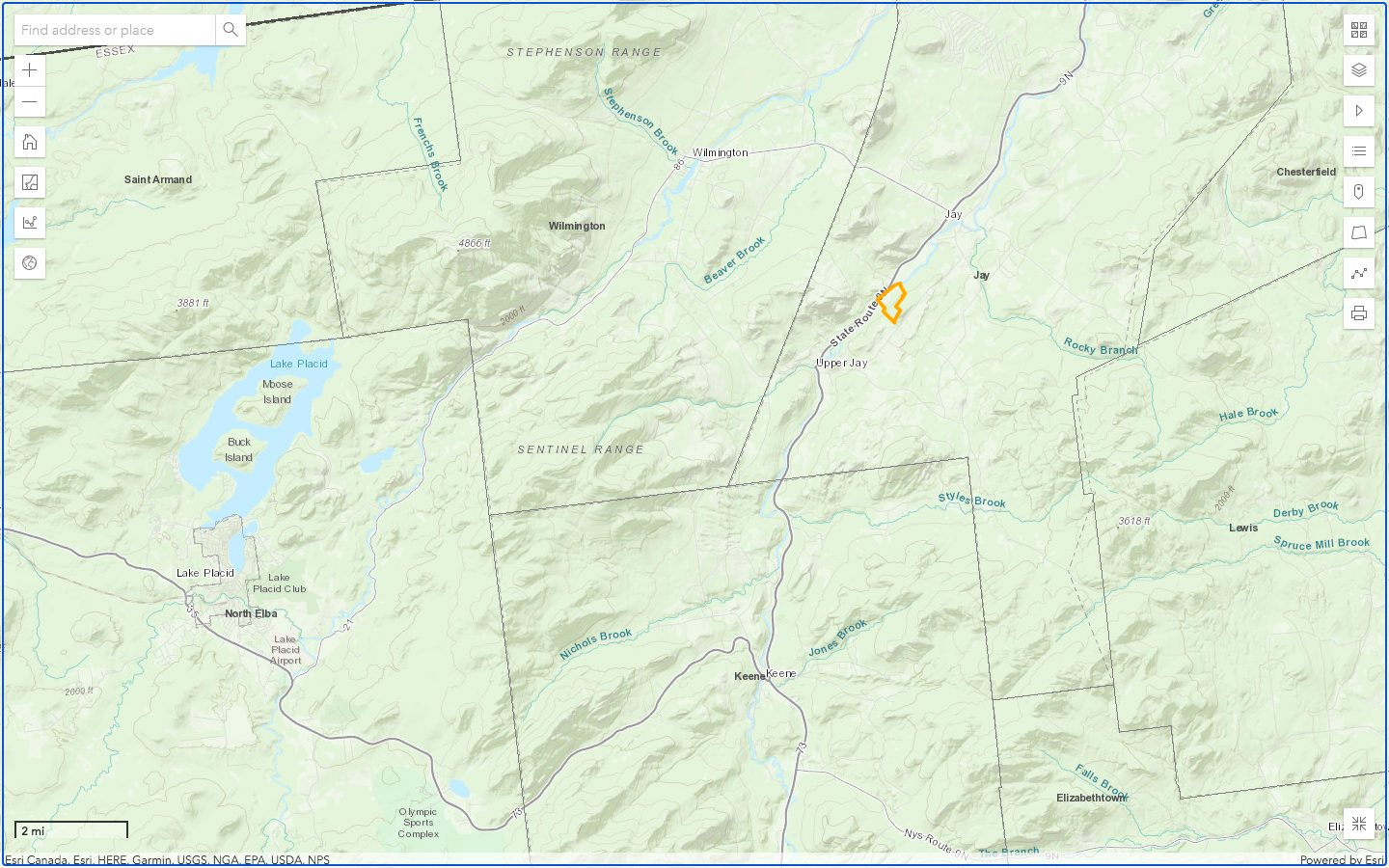 Ausable East Location 2